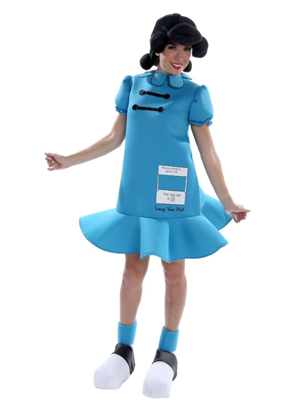 Peanuts Lucy Womens Costume Tv Show Costumes