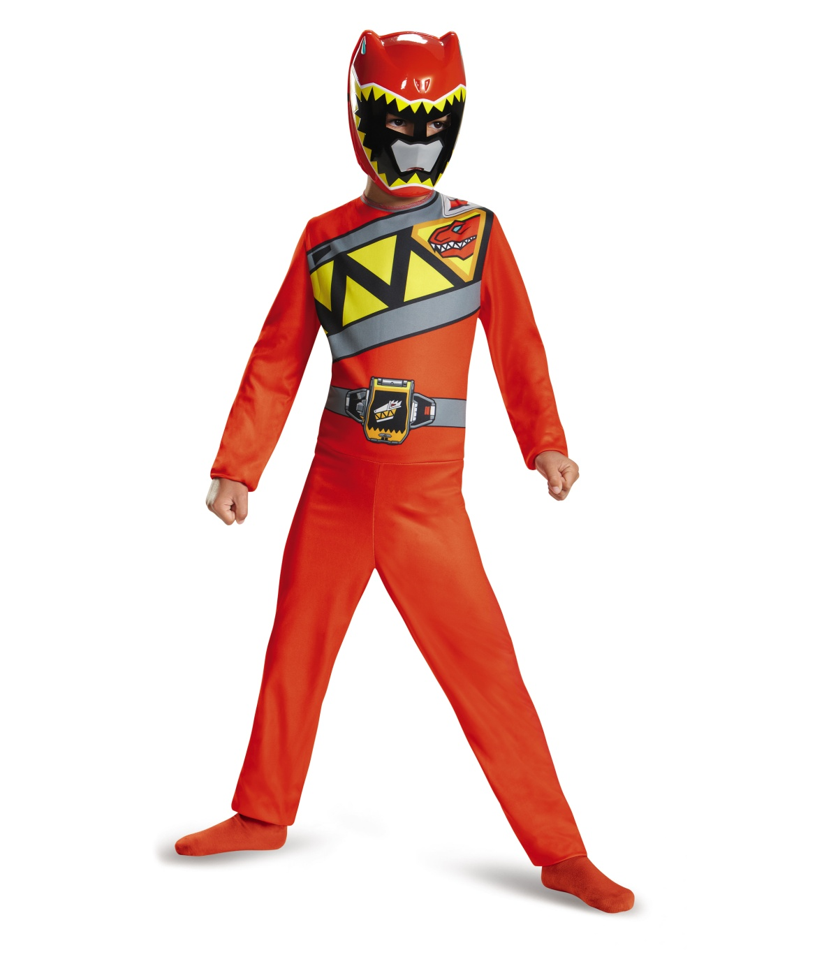 red power ranger dino charge boys costume. Black Bedroom Furniture Sets. Home Design Ideas