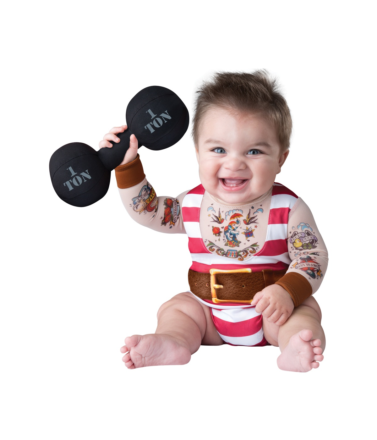Baby Boy Gifts Halloween : Tatted strongman baby boy costume