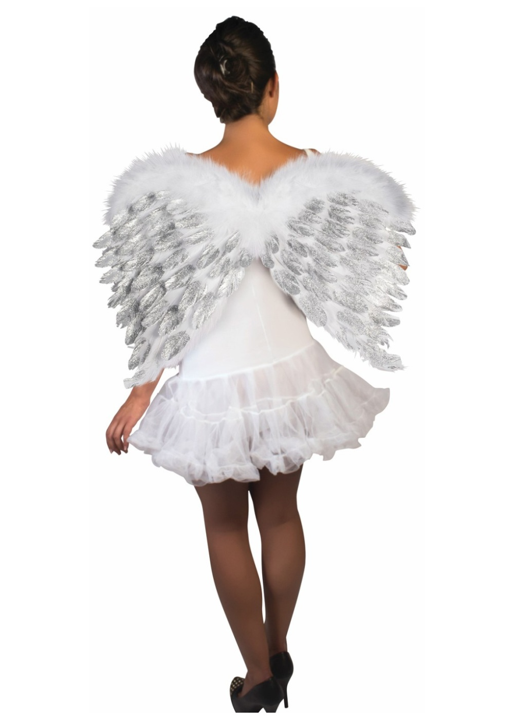 how to make feather wings for a costume