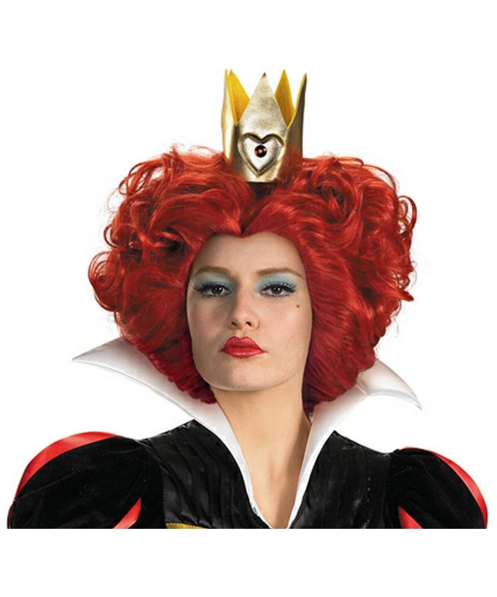 Queen Of Hearts Costumes For Women Red Queen Wig - Alice ...