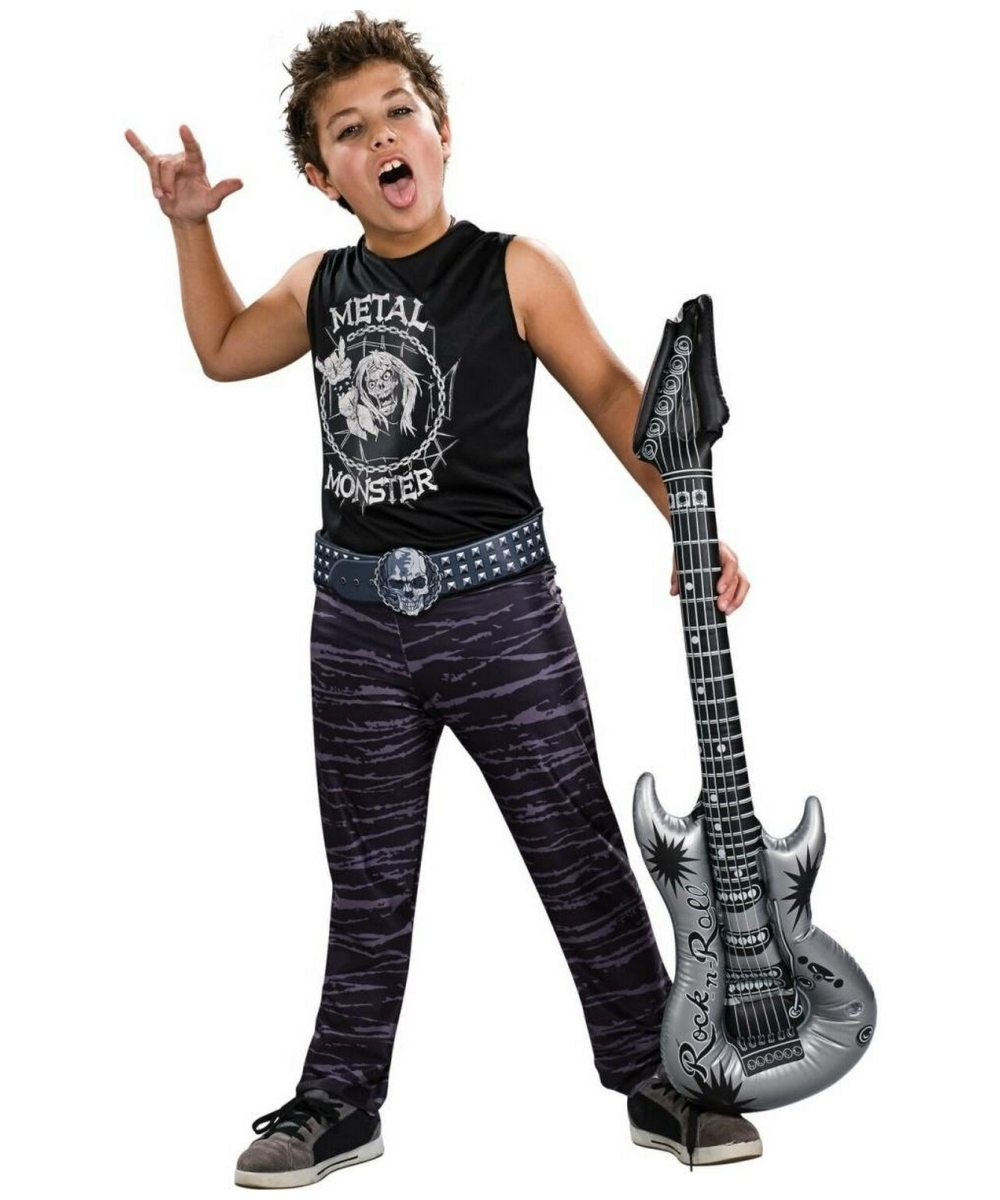 Rock Hero Costume Kids Costume Halloween Costume At Wonder Costumes