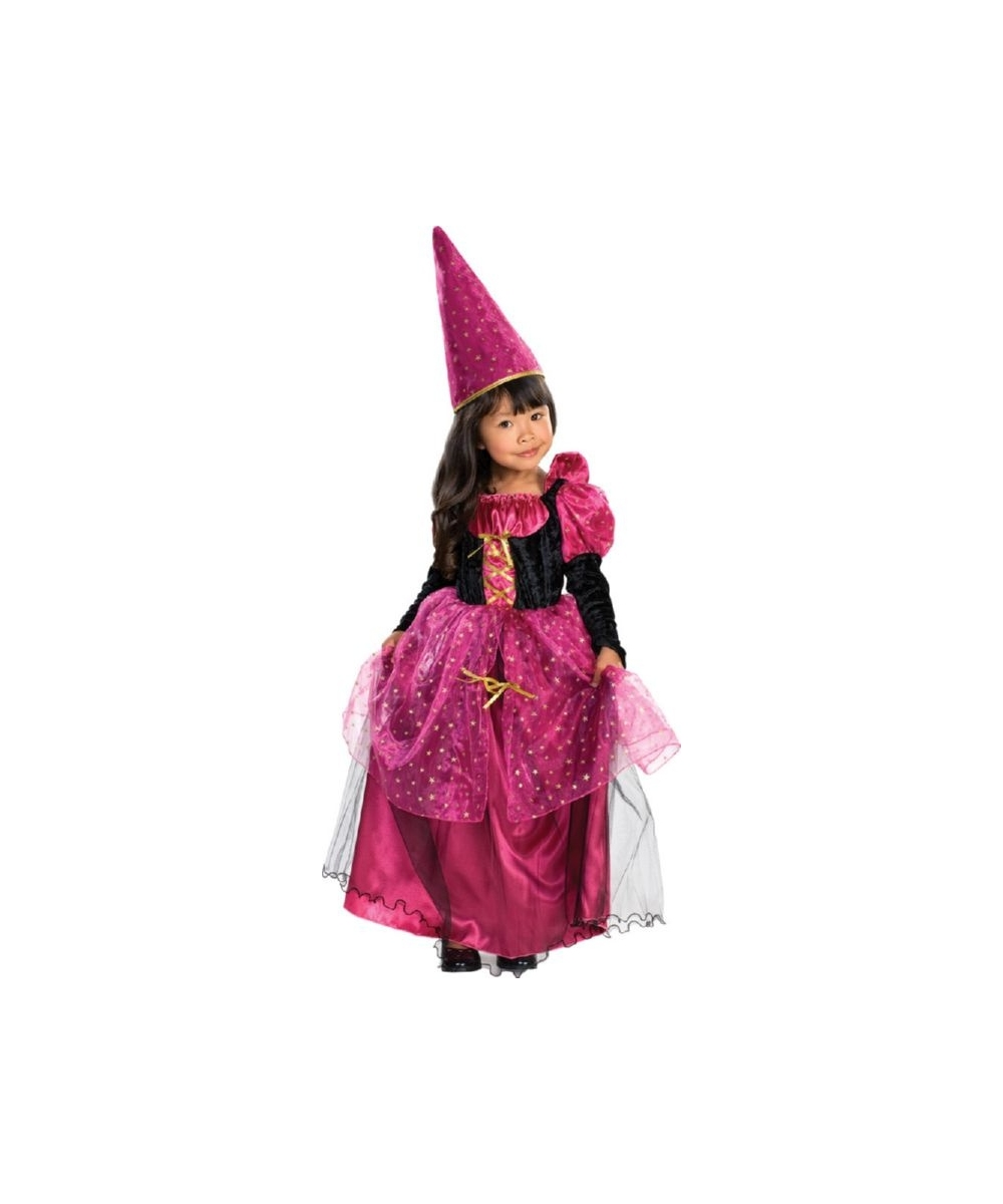 Kids Magenta The Mystic Costume