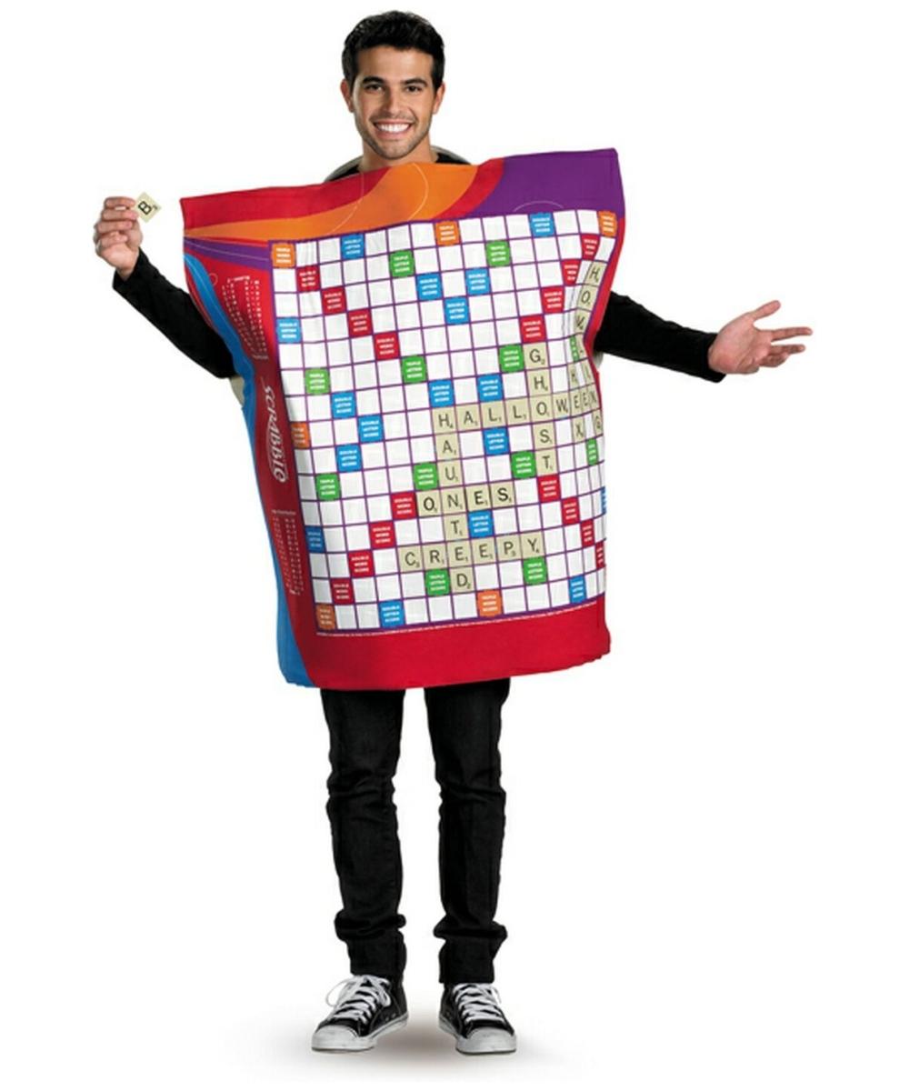 Image gallery scrabble costume for Diy scrabble costume