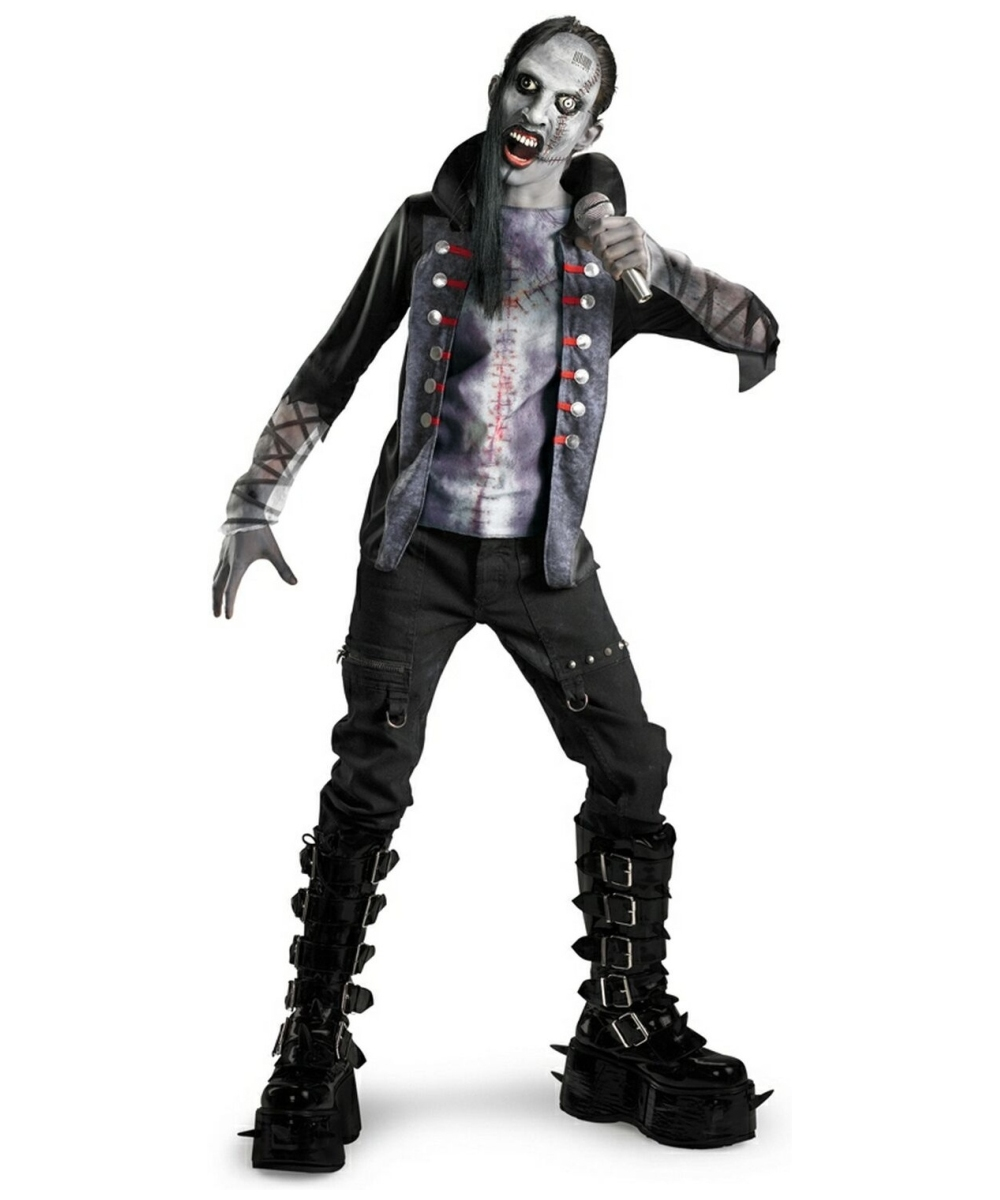 Shock Rock Costume - Child/tween Costume - Scary Halloween Costume ...