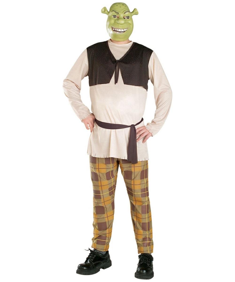 shrek costume men movie costumes. Black Bedroom Furniture Sets. Home Design Ideas