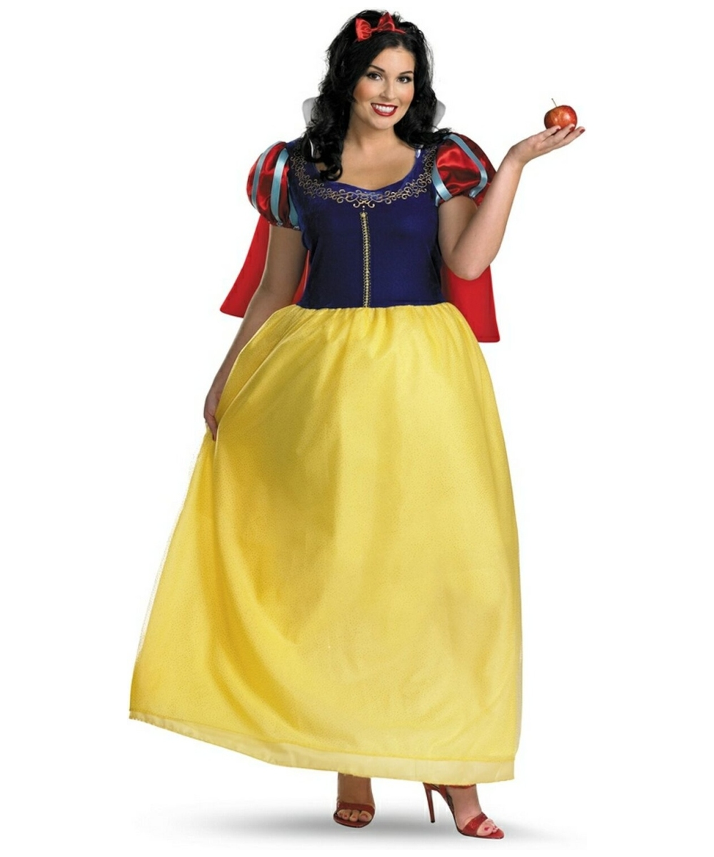 adult snow white plus size disney princess costume