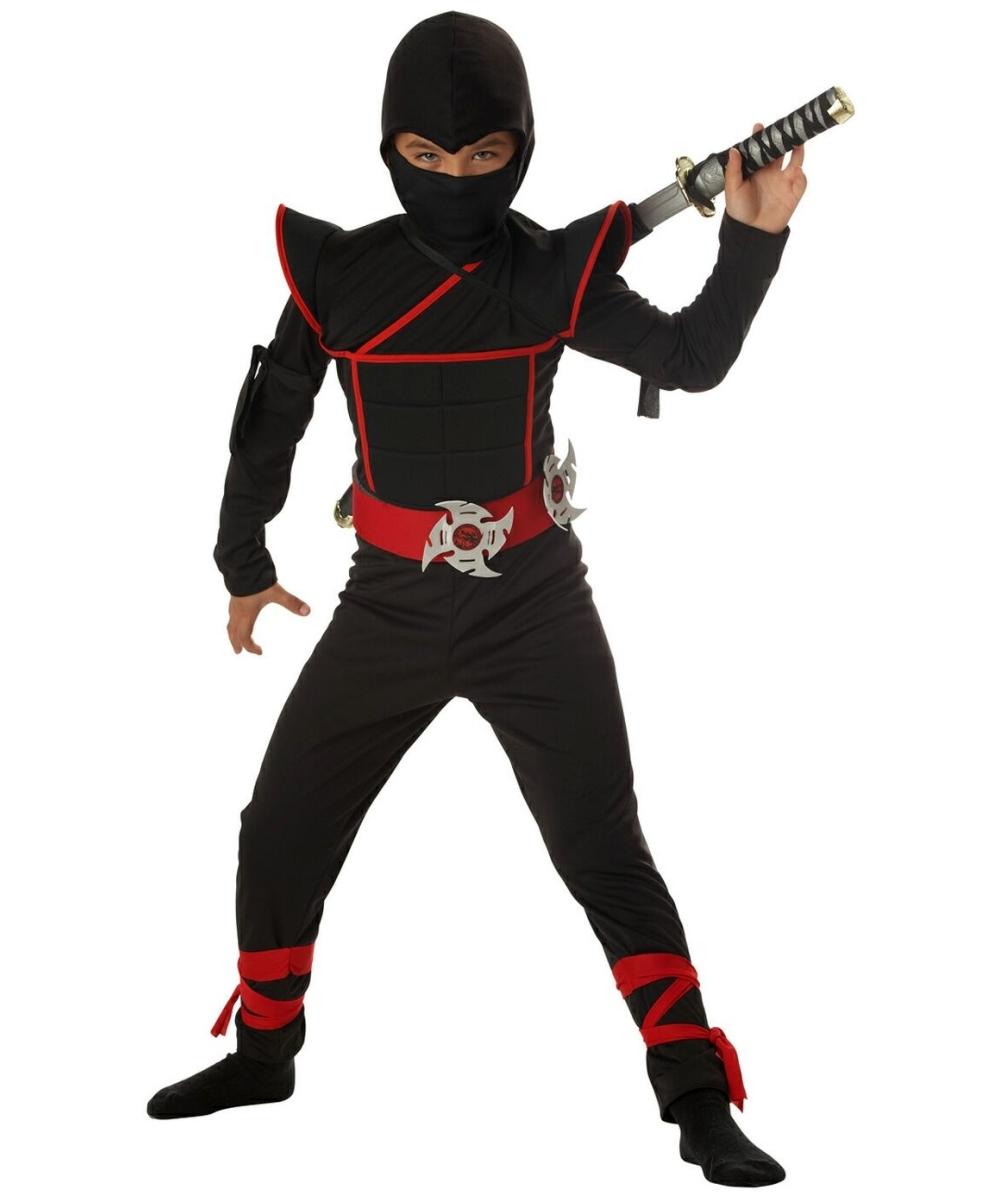 Stealth Ninja Kids Costume Boys