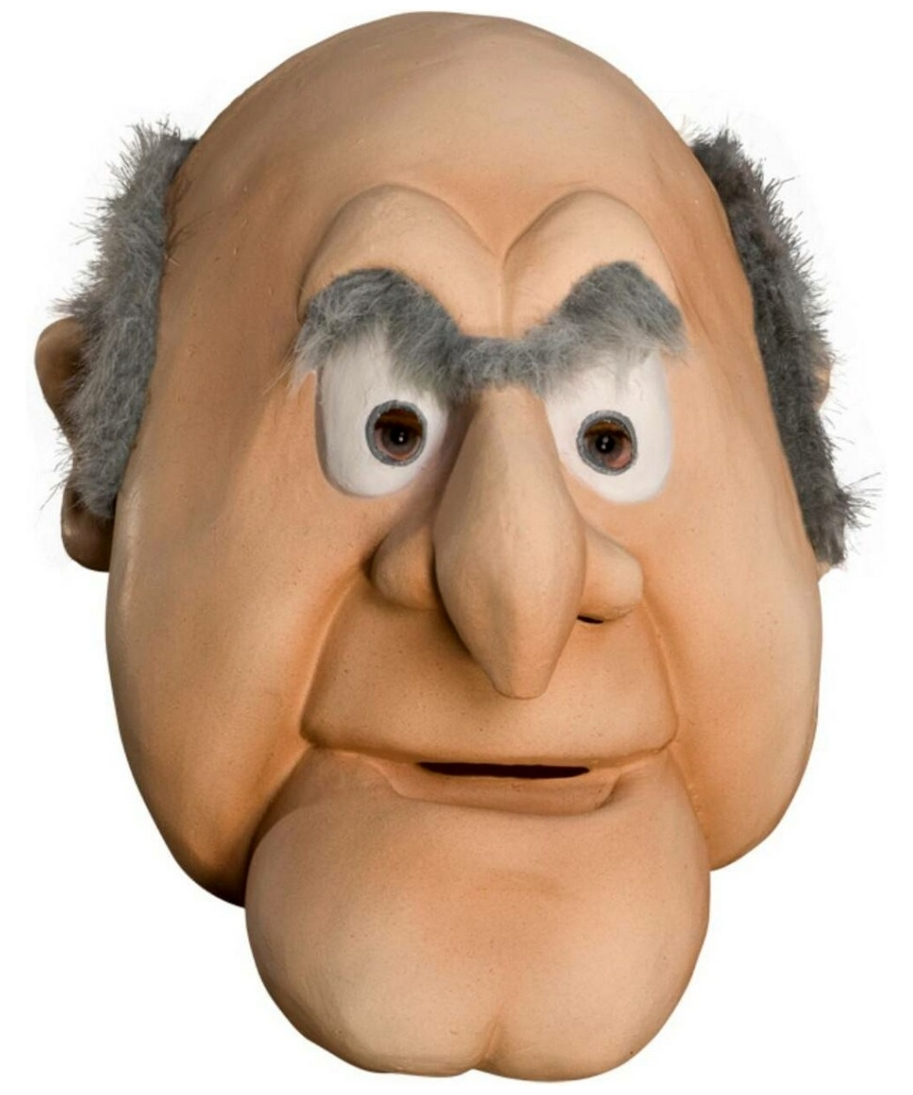 1000 Ideas About Statler And Waldorf On Pinterest: Adult The Muppets Statler Mask