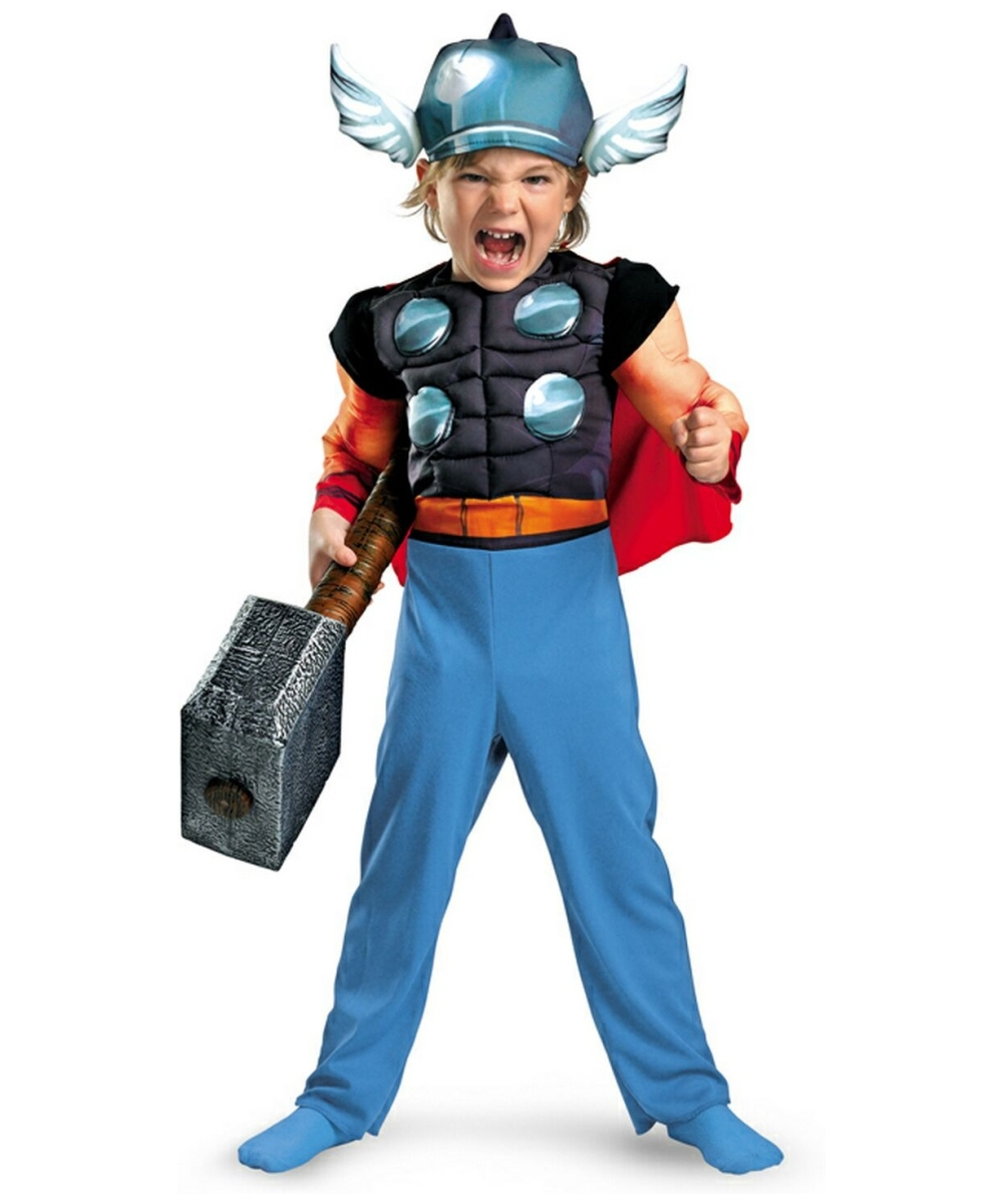 Thor Muscle Kids Movie Halloween Costume