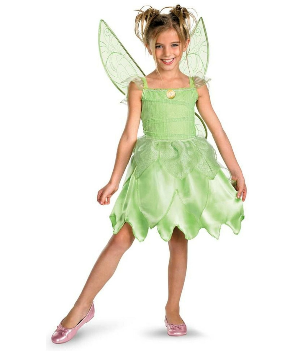 Tinker Bell might disagree, but we know you'll look even better than she does in this Tinker Bell costume! This Halloween, recapture your childhood in a way you'll never have to grow up from, with our Sequin Deluxe Tinker Bell Adult Costume.5/5(1).