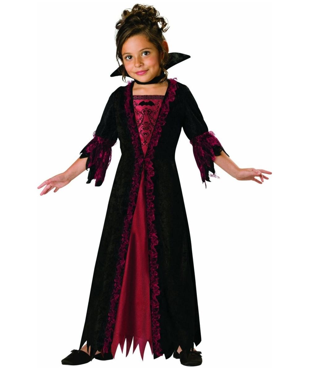 Как сделать костюм вампира для девочки