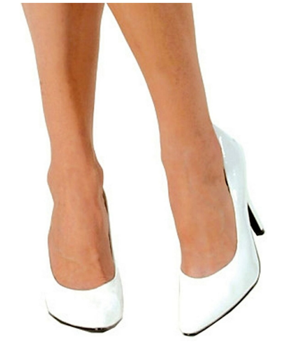 white shoes costume shoes