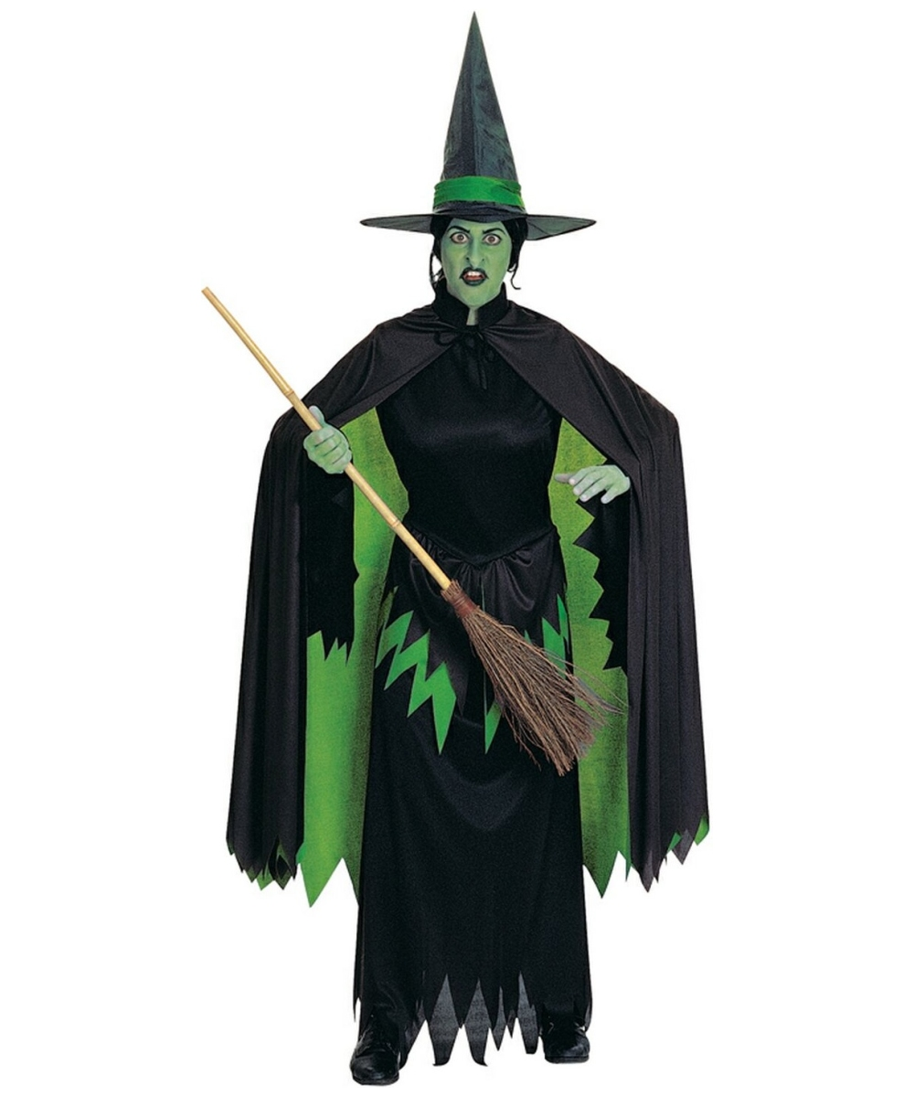 Adult Wicked Witch Halloween Costume - Women Witch ...