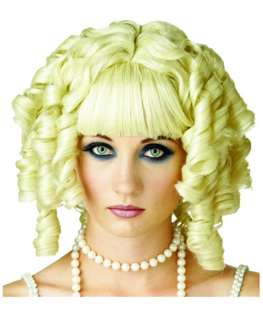 adult wig ghost doll blonde adult halloween costumes - Halloween Costumes With Blonde Wig