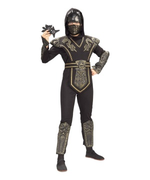 Dragon Warrior Ninja Child Costume