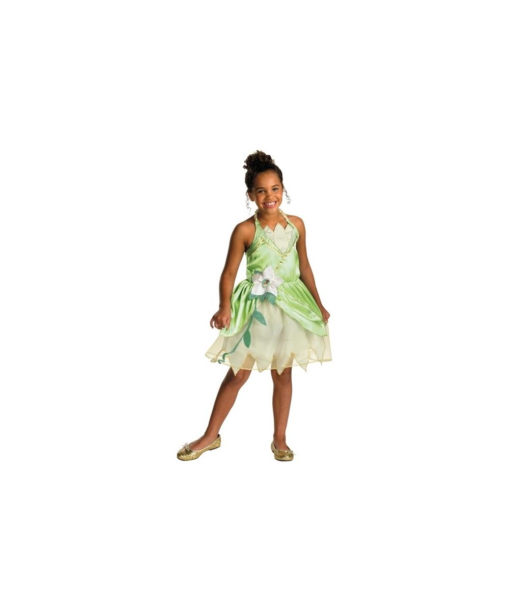 Princess Tiana Outfit: Tiana Princess Child Disney Costume