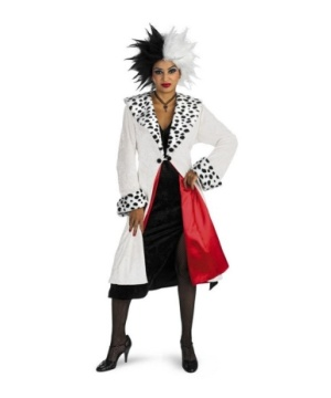 Cruella Disney Women Costume Prestige