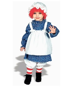 Raggedy Ann Kids Costume