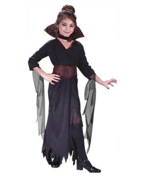 Rose Vampiress Kids Costume