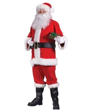 Santa Suit plus size Costume