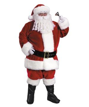 Santa Suit Premium Plush Xxl