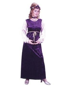 Velvet Harvest Princess Costume