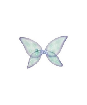 Wings Child Fairy Blue/green