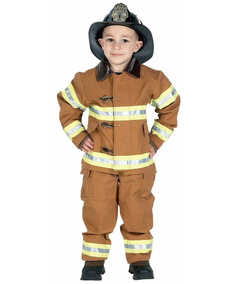 fire fighter kids costume boys halloween costumes - Halloween Costume Fire
