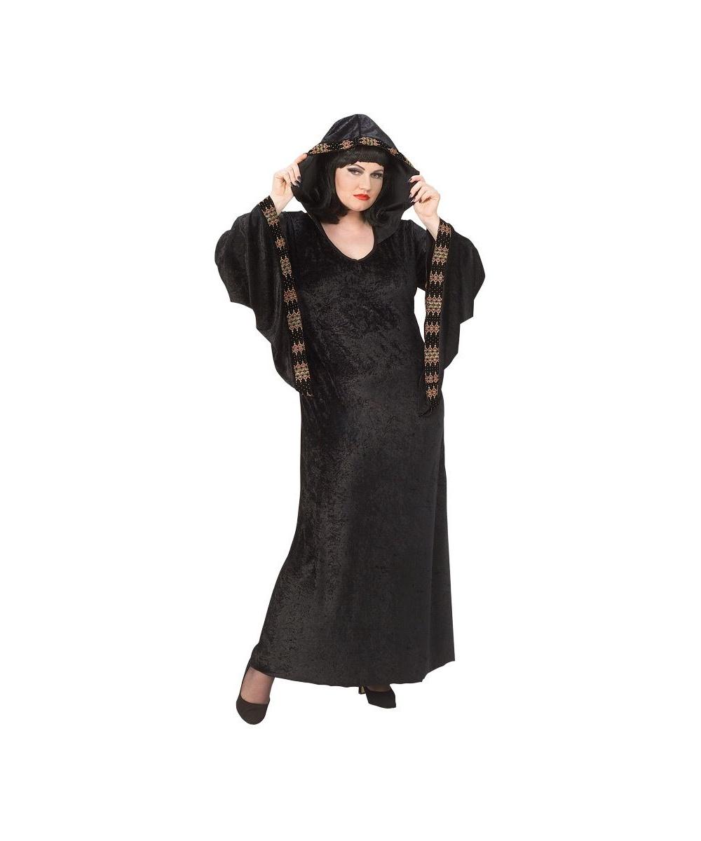 adult midnight priestess plus size scary halloween costume women costumes