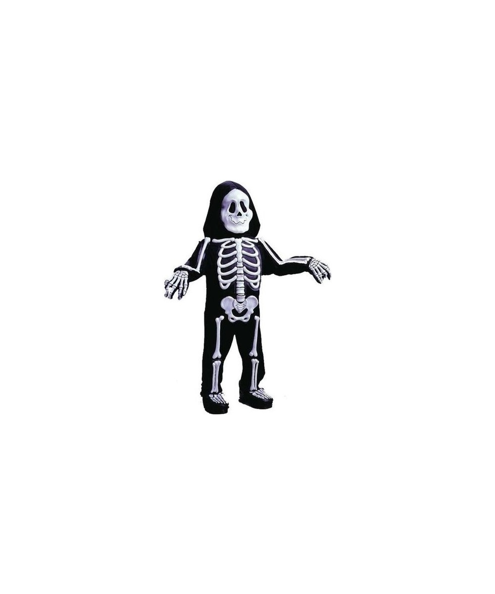 Skelebones Boys Costume