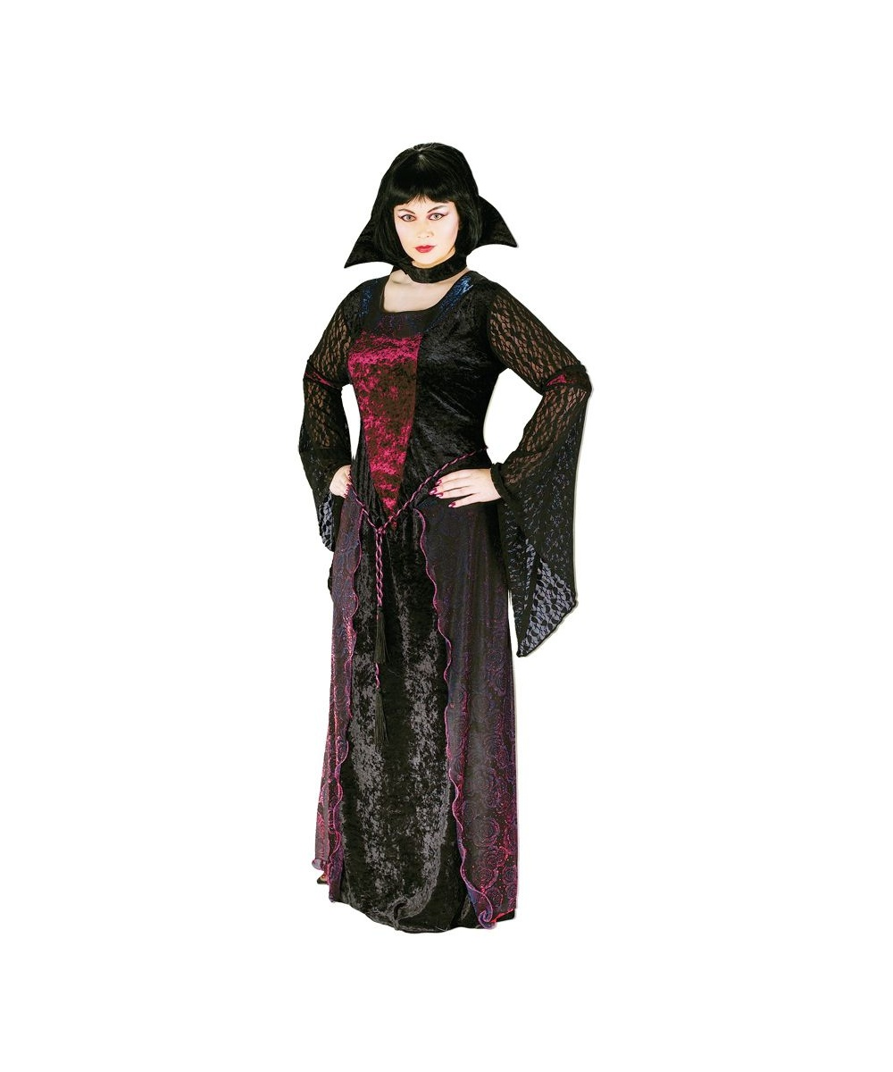 Adult Vamptessa plus size Vampire Halloween Costume