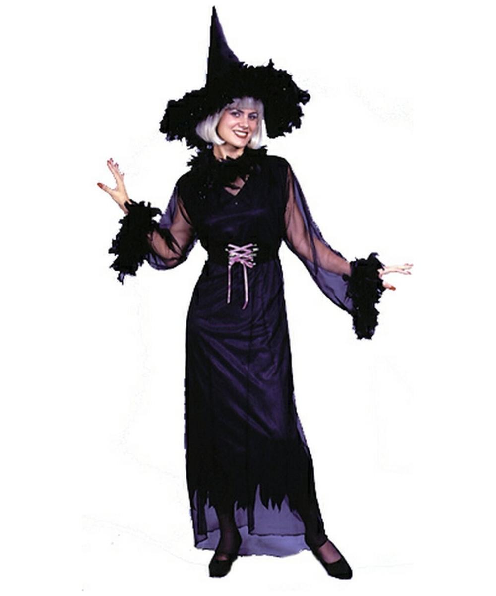 Plus Size Black Magic Witch Halloween Costume |Plus Size Halloween Costumes Witch