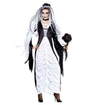 Womens Graveyard Bride Costume