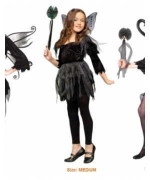 Midnight Fairy Girl Costume