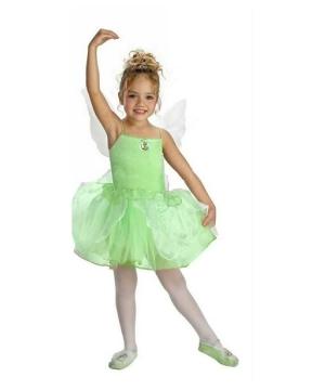 Tinkerbell Ballerina Girls Costume