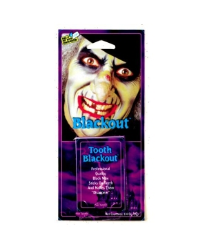 Tooth Black Out Wax