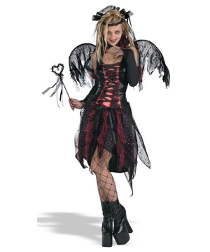 Vamp Fairy Teen Women Costume