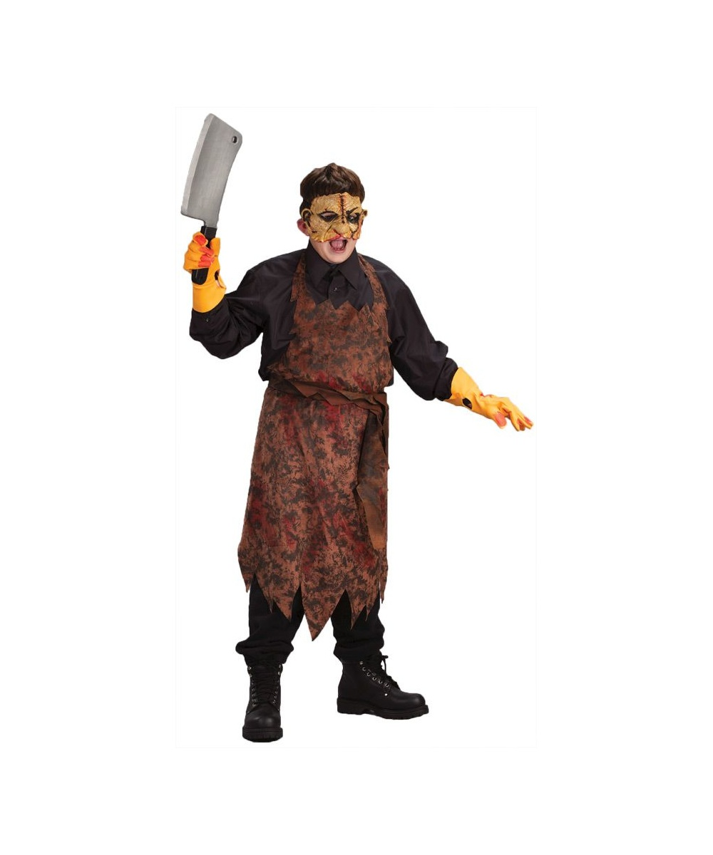kids butcher scary halloween costume boys costume - Scary Halloween Costumes For Children