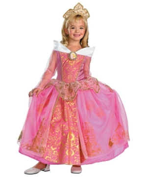 Aurora Disney Girl Costume