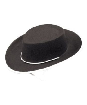 Cowboy Hat Child Black