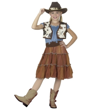 Cowgirl Kids Costume