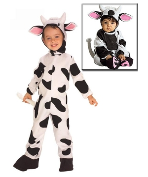Cozy Cow Baby Costume