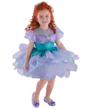 Disney Ariel Ballerina Girls Costume