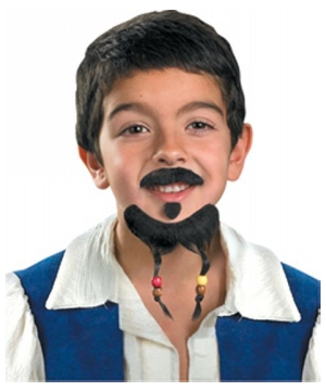 Disney Goatee Mustache Child Kit