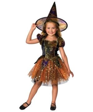 Elegant Witch Kids Costume
