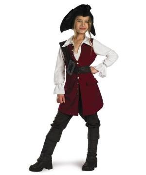 Elizabeth Pirate Girls Disney Costume