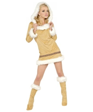 Women Eskimo Kisses Costume