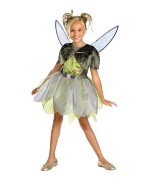 Fairy Tinkerbell Disney Girl Costume