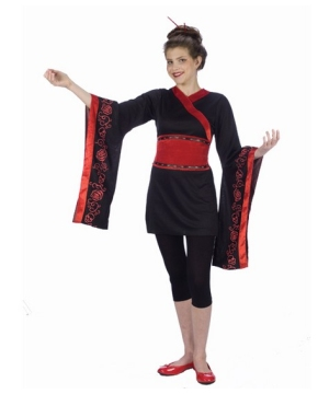 Gothic Geisha Teen Costume